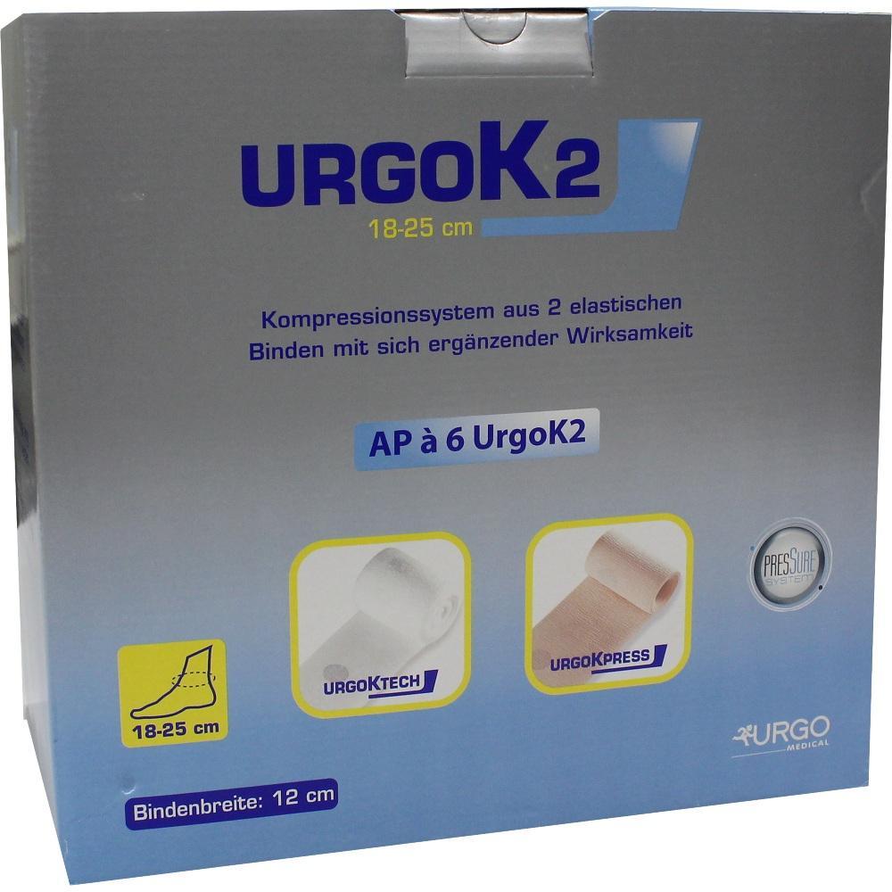 URGOK2 Kompr.Syst.12cm Knöchelumf.18-25cm
