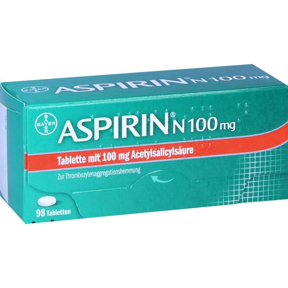 05387239, ASPIRIN N 100mg, 98 ST
