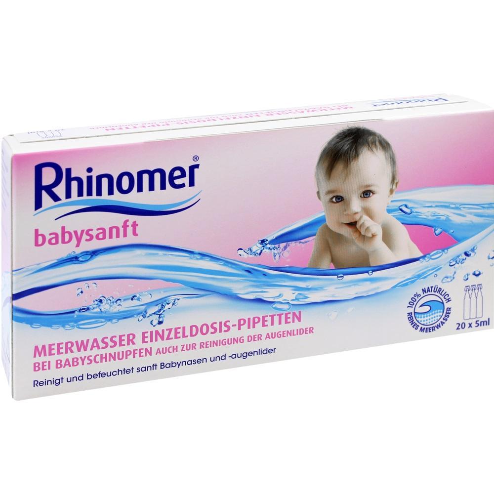 05396646, Rhinomer babysanft Meerwasser 5ml EDP, 20X5 ML