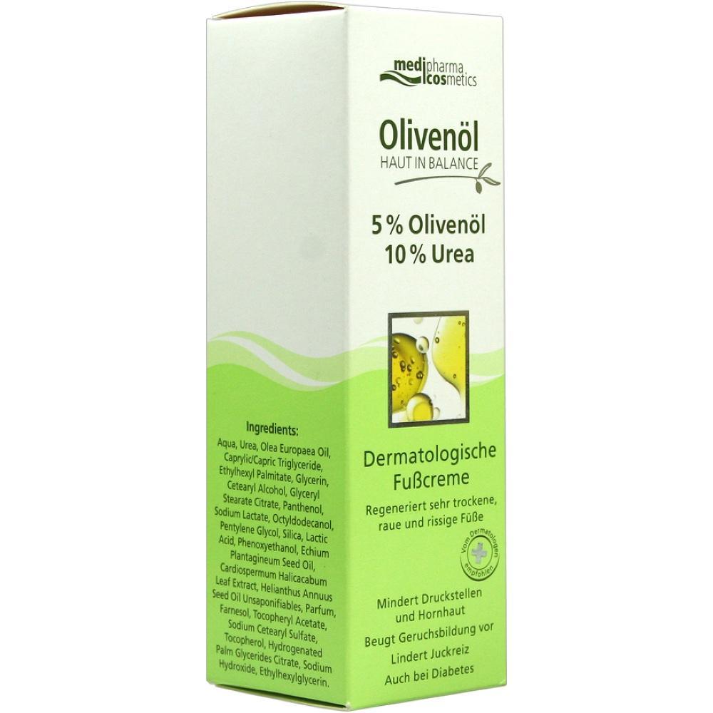 05462277, Haut in Balance Olivenöl Fußcr. 5%Olivenöl 10%Urea, 100 ML