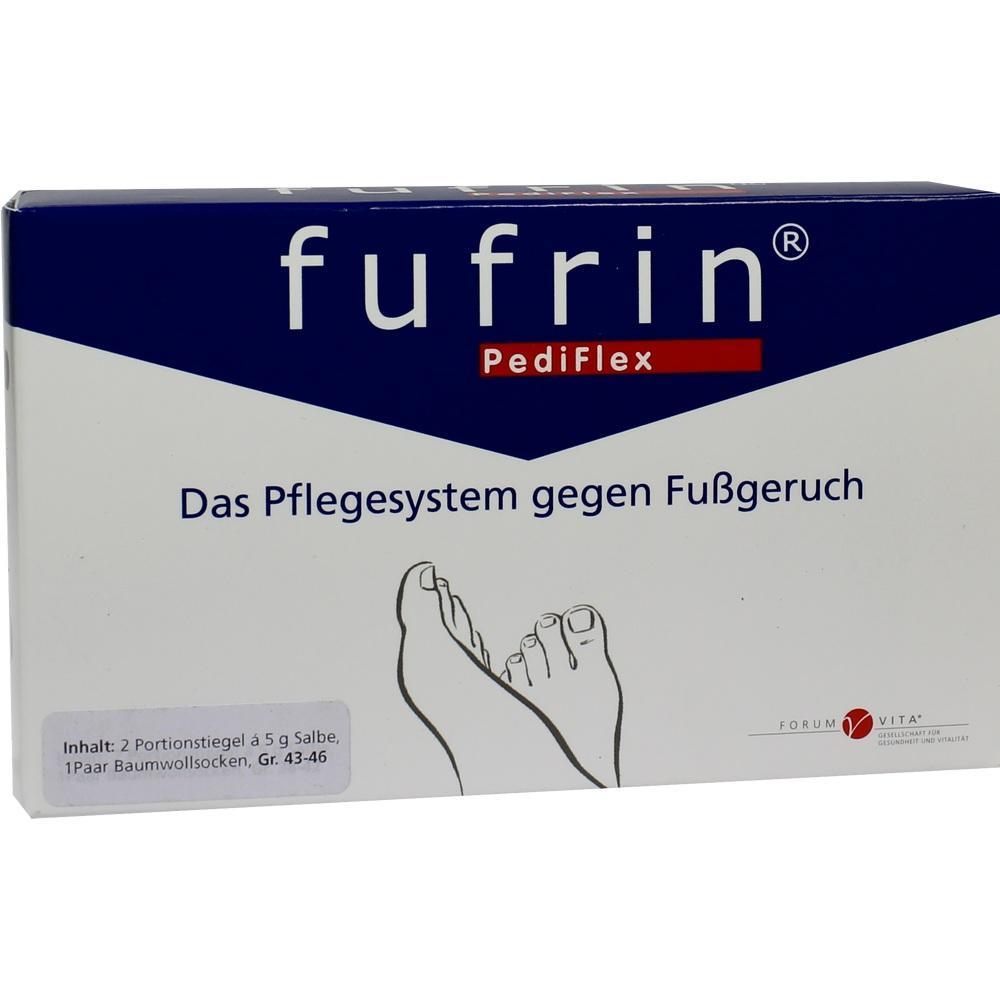 FUFRIN PediFlex Pflegesyst.Socke+Salbe Gr.43-46