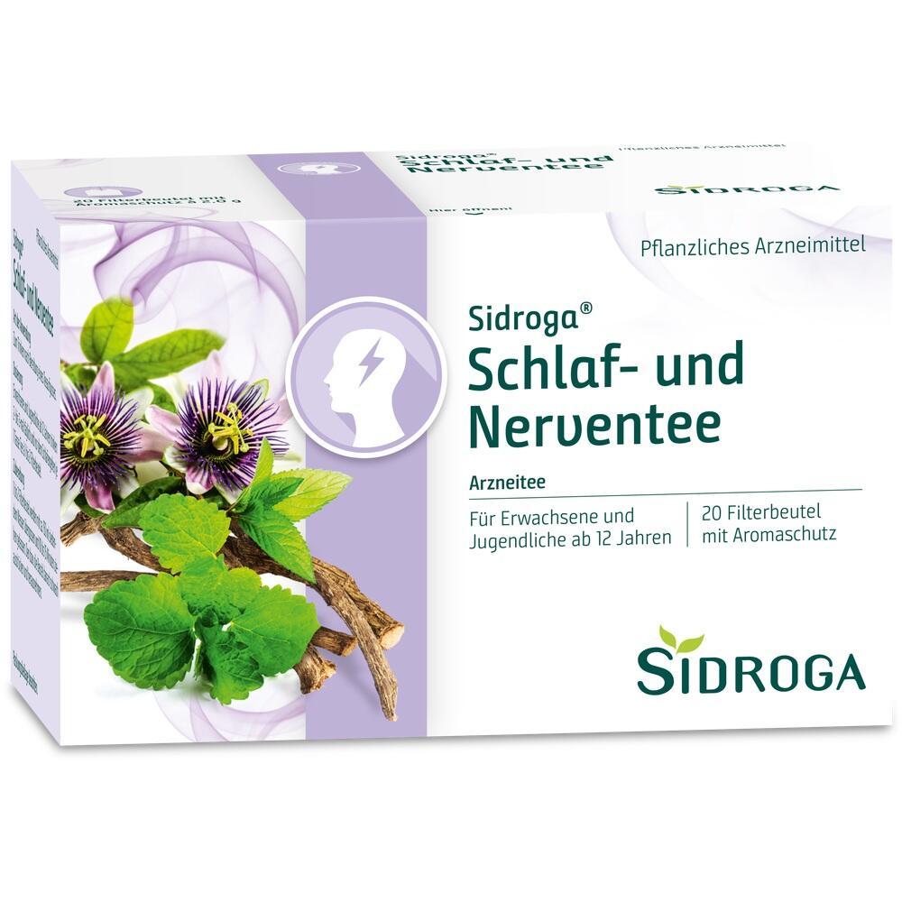 05485717, SIDROGA Schlaf- und Nerven-Tee, 20X2.0 G