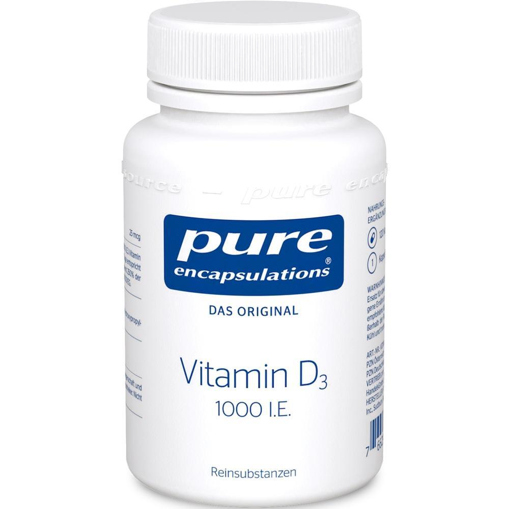 05495667, PURE ENCAPSULATIONS Vitamin D3 1000 I.E., 120 ST