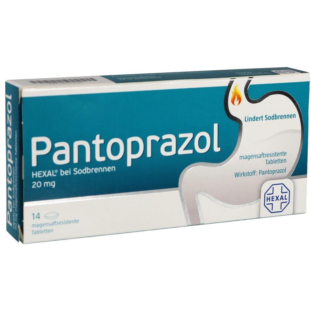 05523582, Pantoprazol HEXAL bei Sodbrennen, 14 ST
