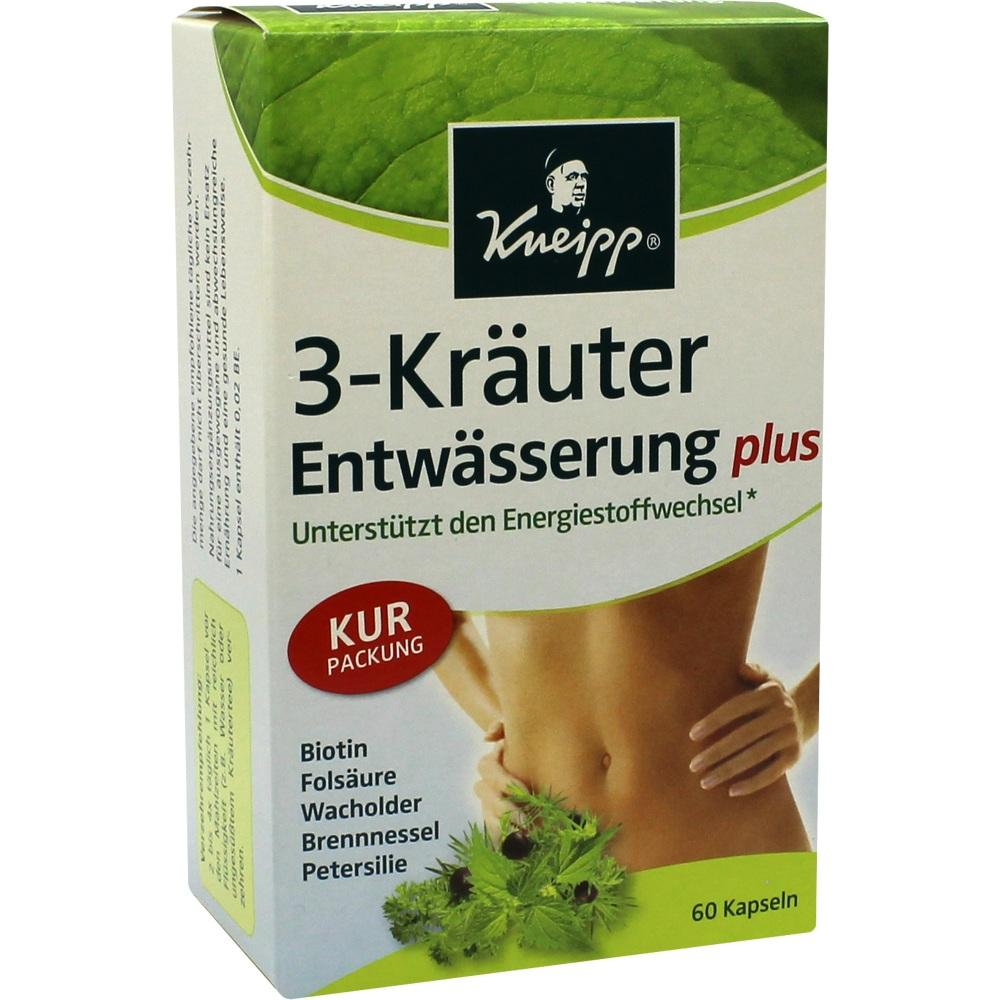 05704042, KNEIPP 3-Kräuter Entwässerung, 60 ST