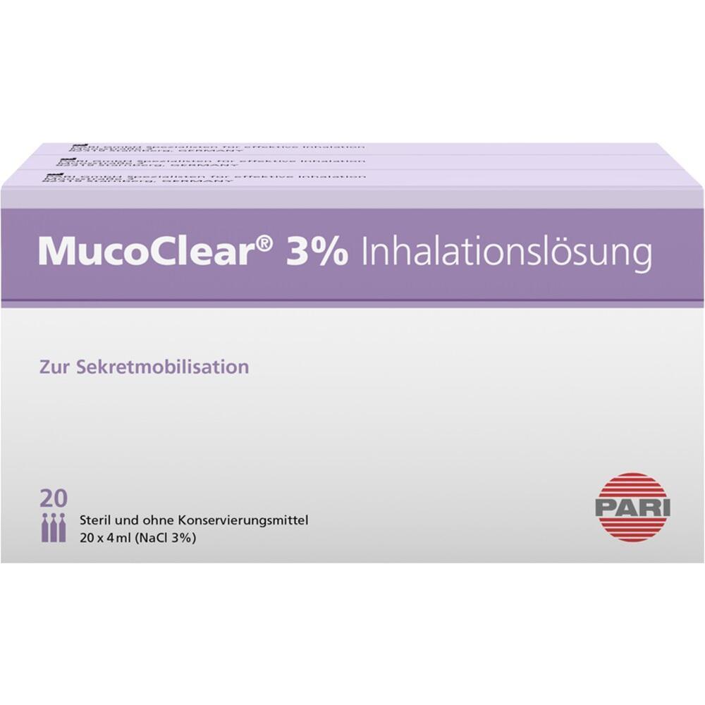 05737225, MucoClear 3% NaCl Inhalationslösung, 60X4 ML