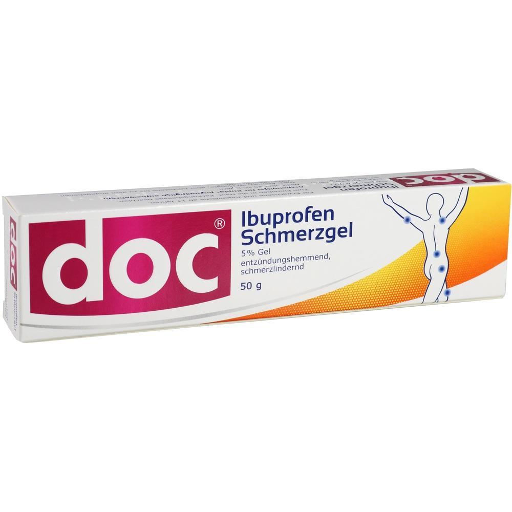 05853351, Doc Ibuprofen Schmerzgel, 50 G