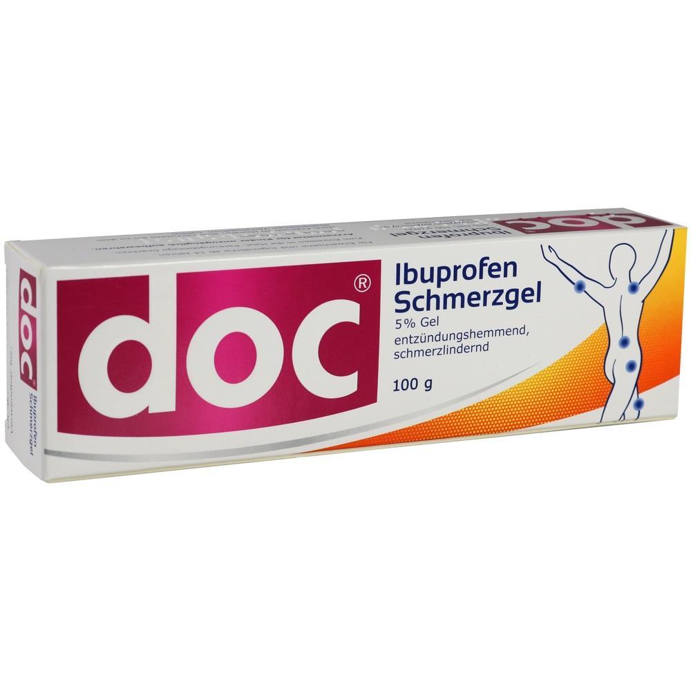 05853368, Doc Ibuprofen Schmerzgel, 100 G