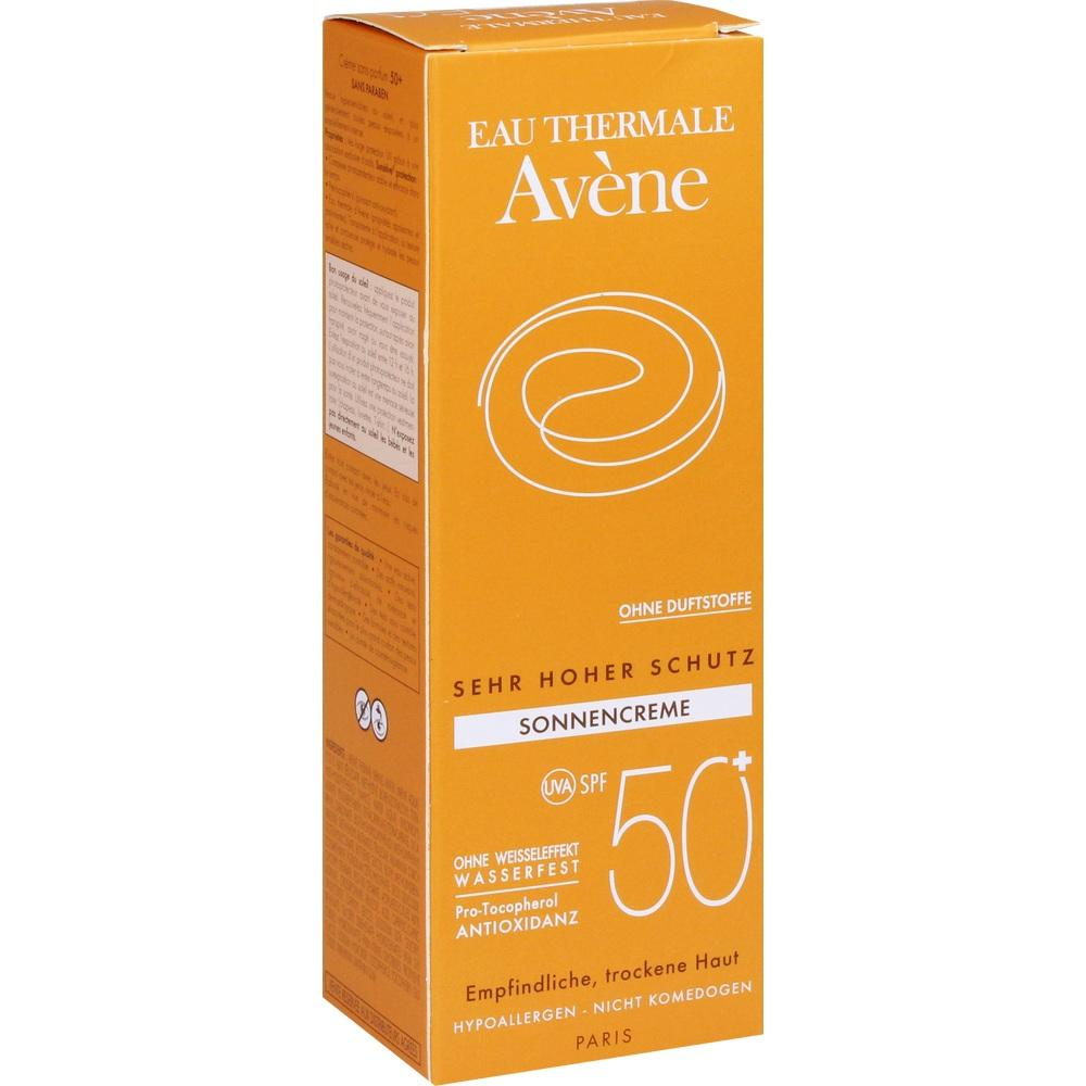 05874620, AVENE SunSitive Sonnencreme o. Duftstoffe SPF 50+, 50 ML