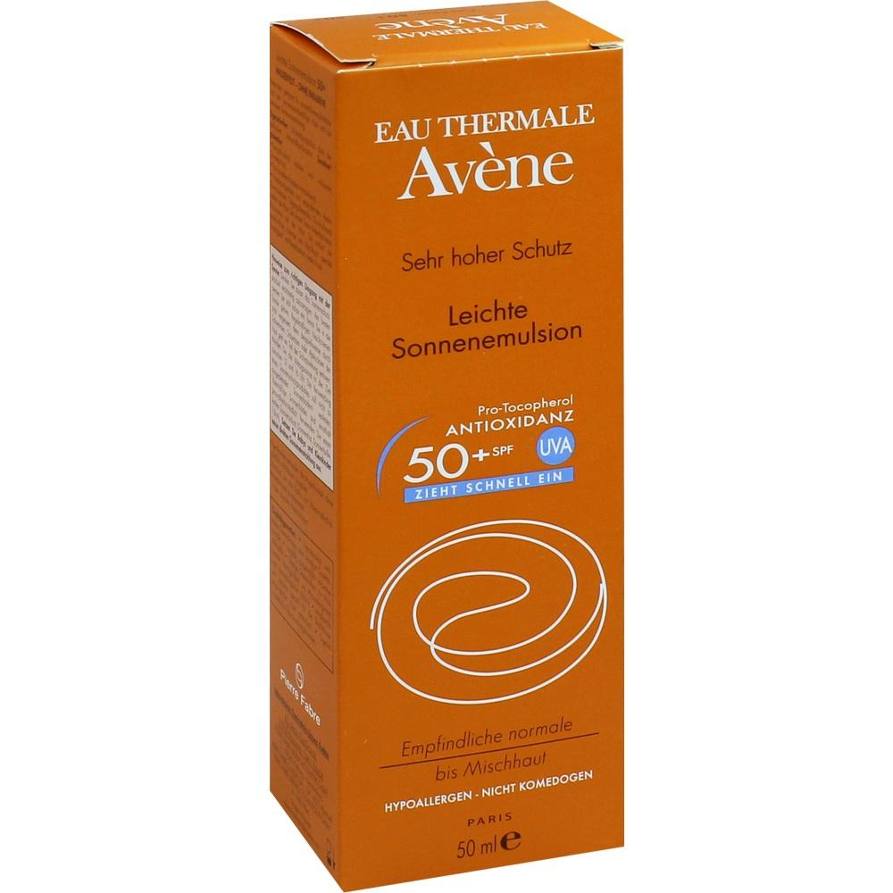 05874637, AVENE SunSitive Sonnenemulsion SPF 50+, 50 ML