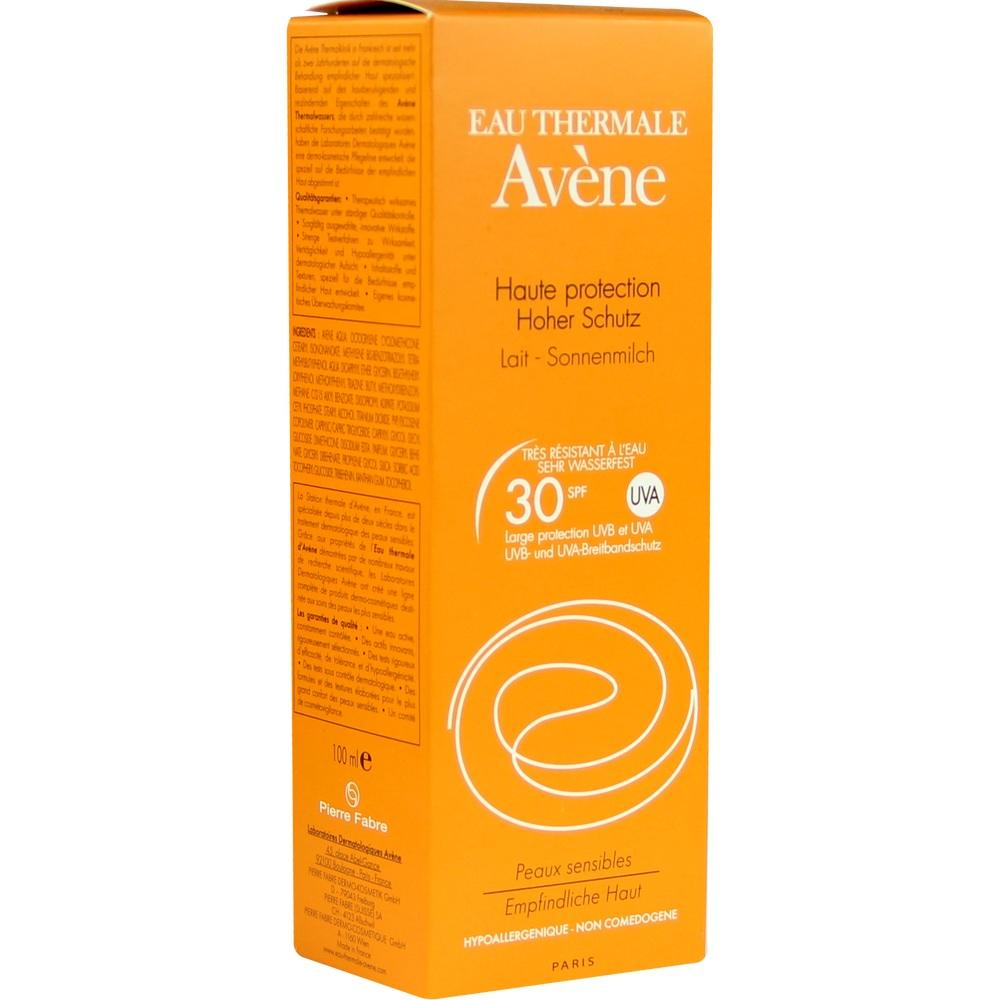 05874695, AVENE SunSitive Sonnenmilch SPF 30, 100 ML