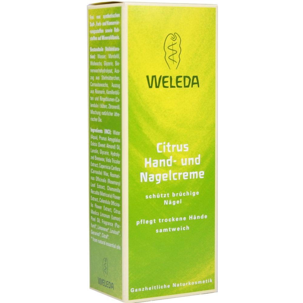 05890984, WELEDA Citrus-Hand- und Nagelcreme, 50 ML
