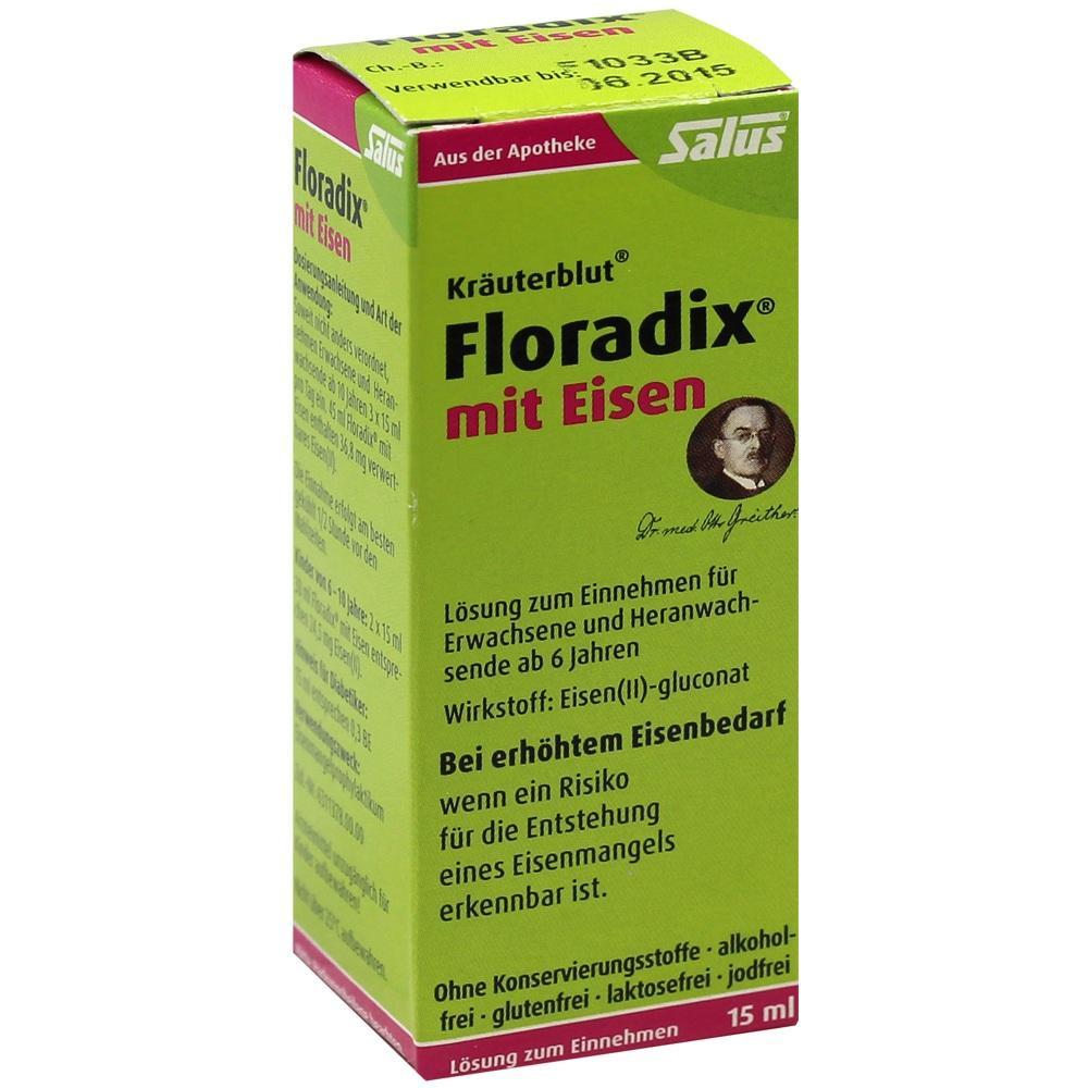 05909531, Floradix mit Eisen, 15 ML