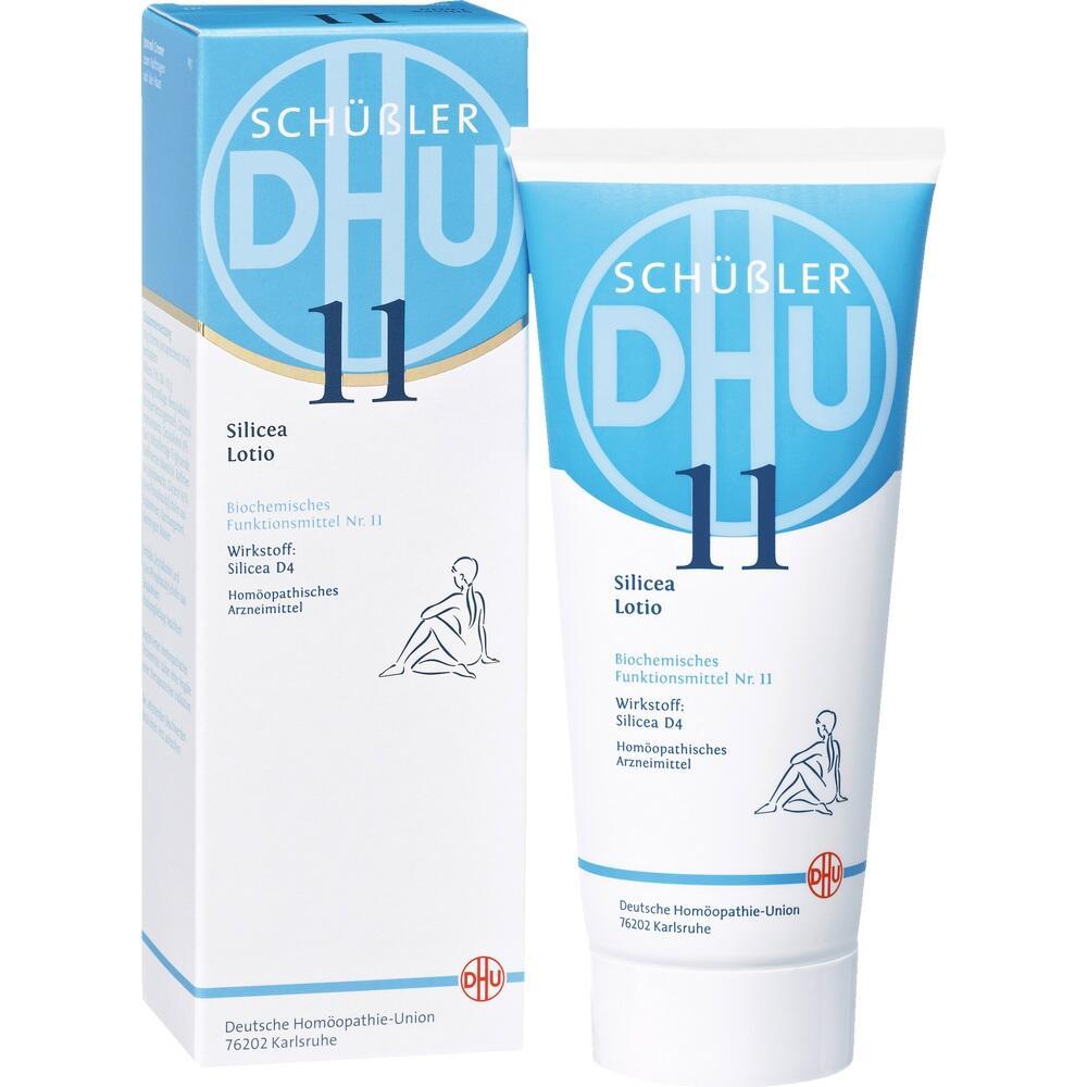 05957228, Biochemie DHU 11 Silicea D4 Lotio, 200 ML