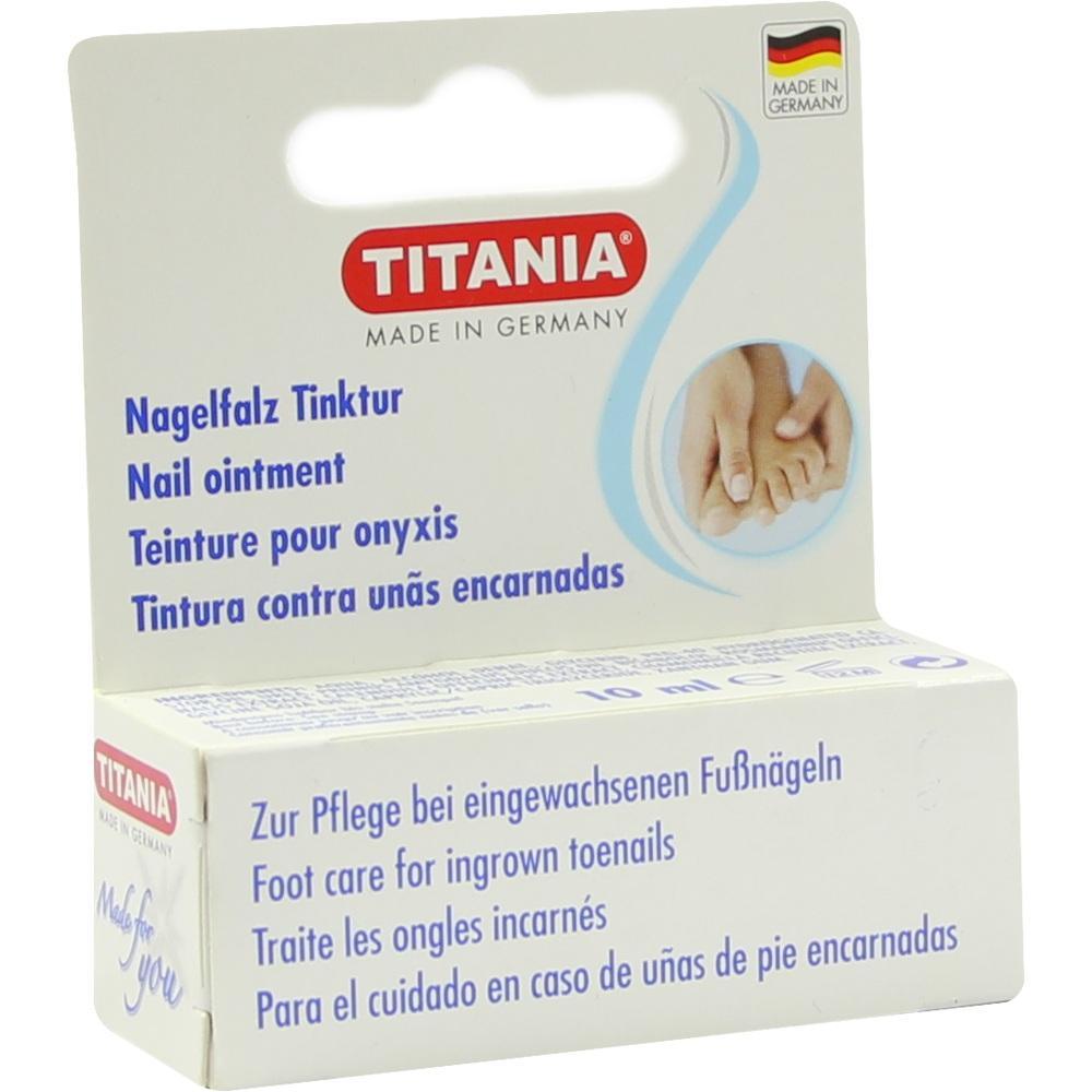 05958676, Nagelfalz Tinktur Titania, 10 ML