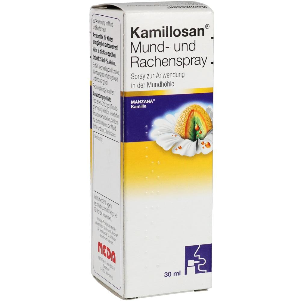 05973405, Kamillosan Mund-und Rachenspray, 30 ML