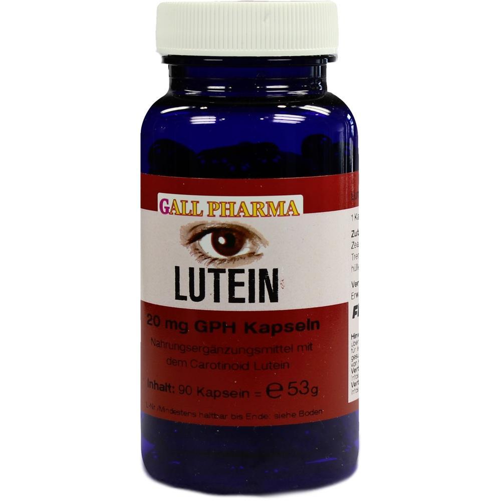 LUTEIN 20 mg Kapseln