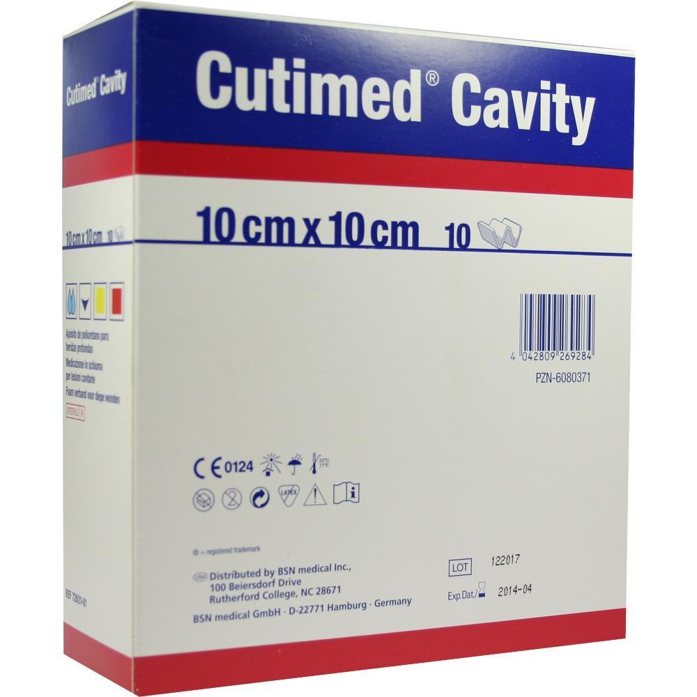 CUTIMED Cavity Schaumverb.10x10 cm nicht haftend