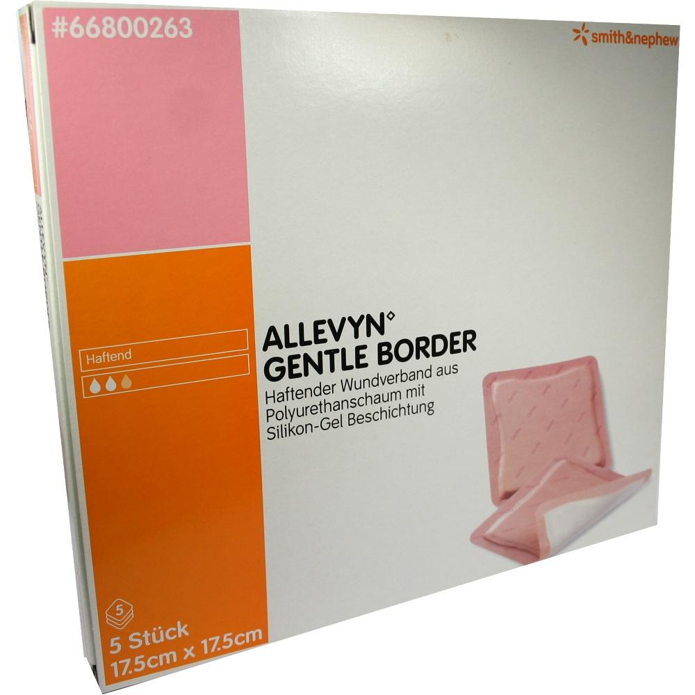 ALLEVYN Gentle Border 17,5x17,5 cm Schaumverb.