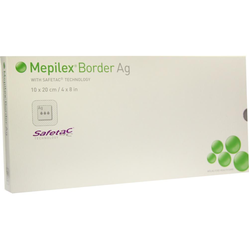 MEPILEX Border Ag Schaumverb.10x20 cm steril