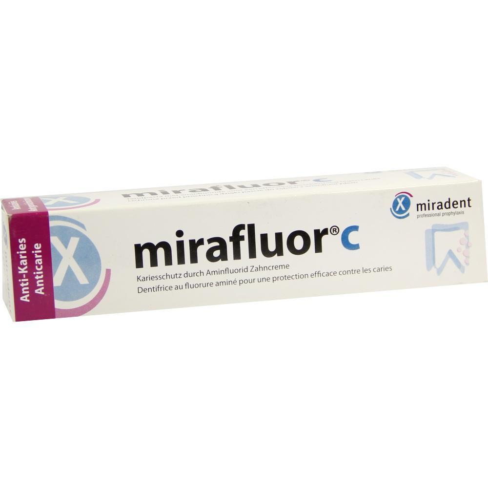06152917, Miradent Mirafluor C ZAHNCREME, 100 ML