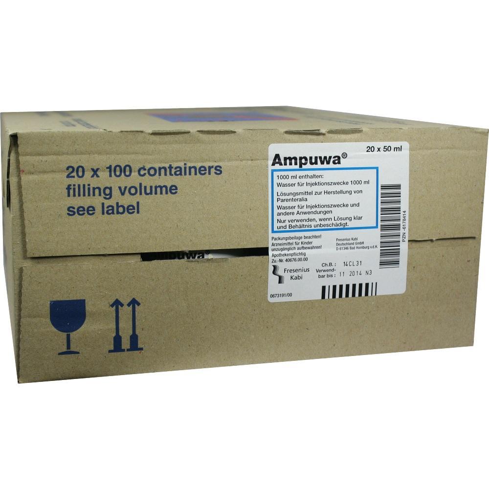 AMPUWA 100 ml Frekaflasche Injekt.-/Infus.-Lsg.
