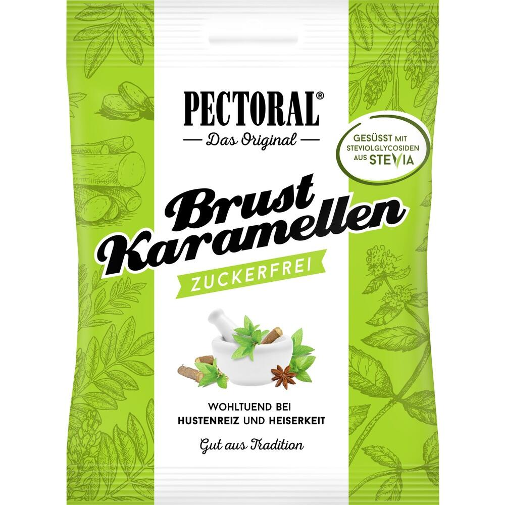 06310523, PECTORAL Brustkaramellen zuckerfrei Beutel, 60 G