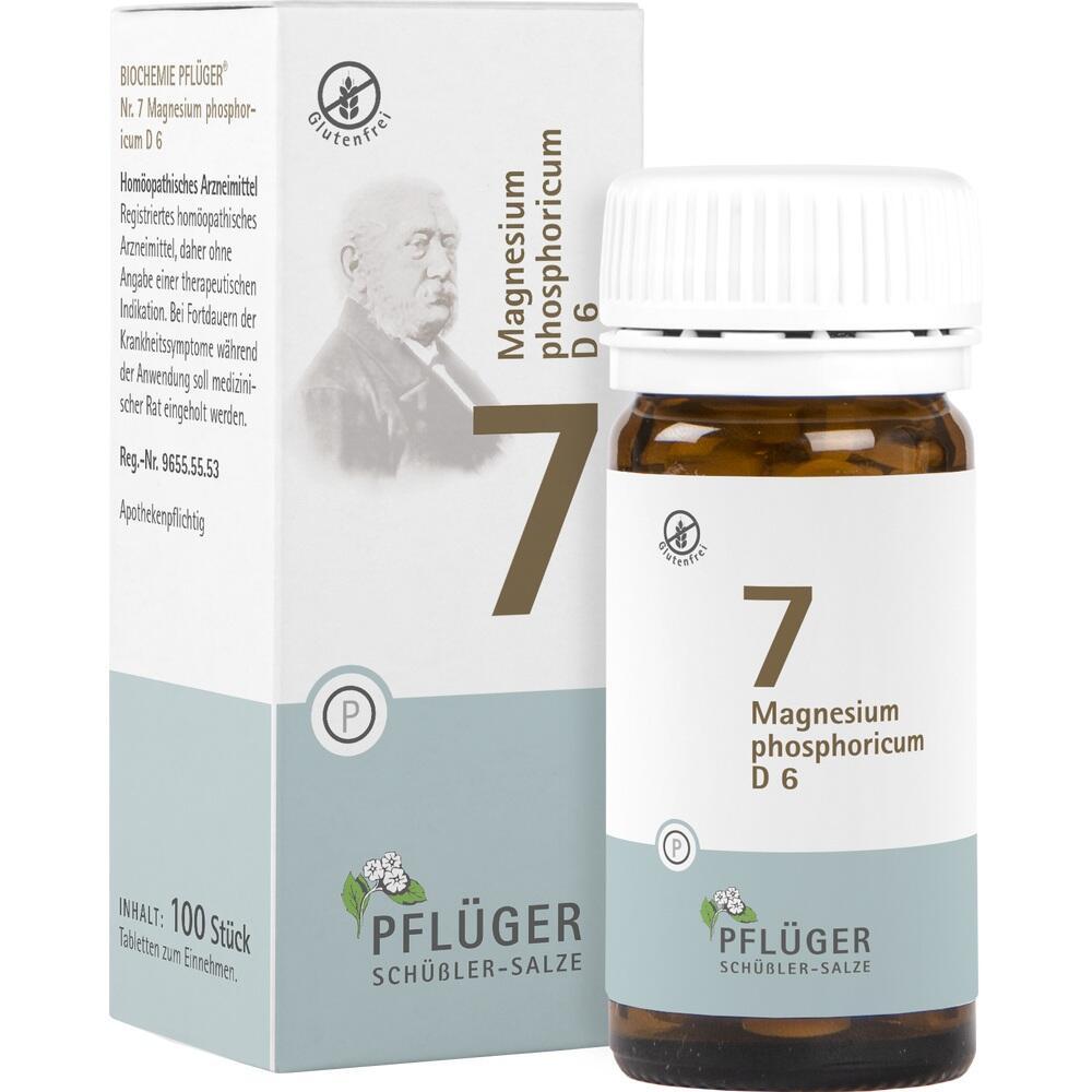 06319323, Biochemie Pflüger Nr. 7 Magnesium phosphoricum D 6, 100 ST