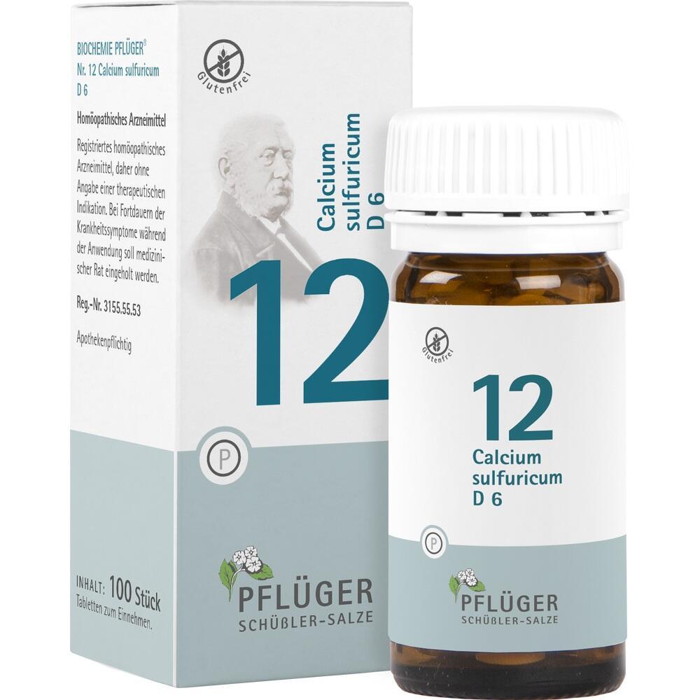 06320148, Biochemie Pflüger Nr. 12 Calcium sulfuricum D 6, 100 ST