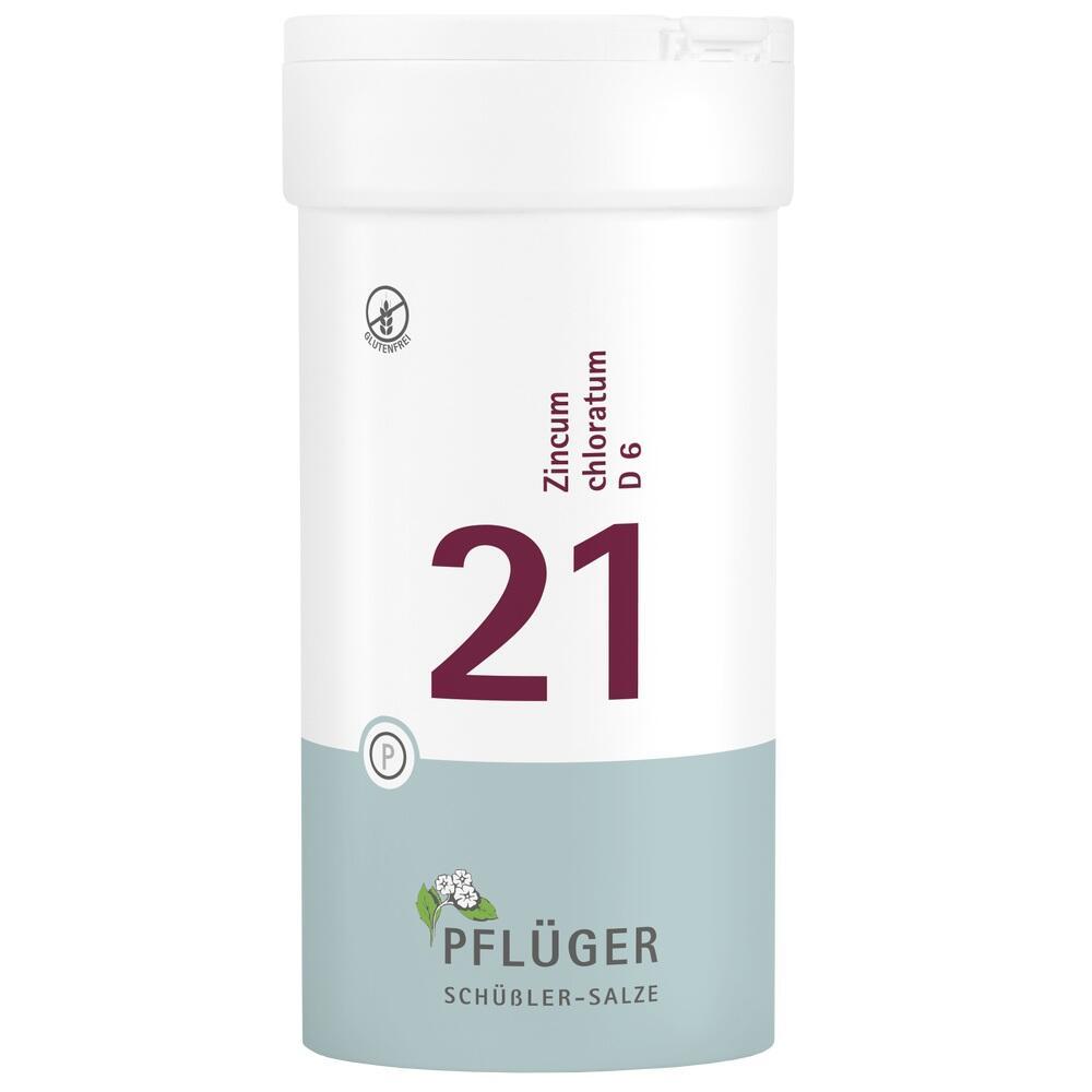 06322756, Biochemie Pflüger Nr. 21 Zincum chloratum D 6, 400 ST