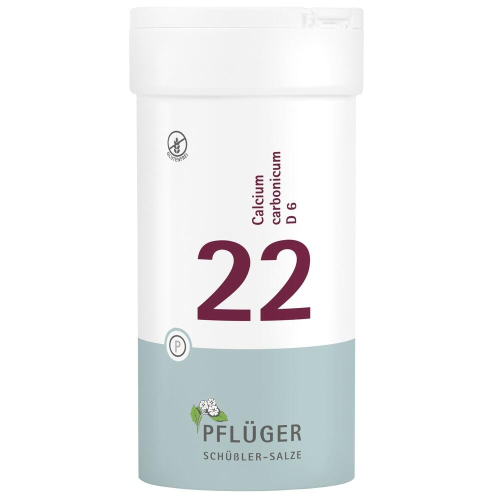 06322839, Biochemie Pflüger Nr. 22 Calcium carbonicum D 6, 400 ST