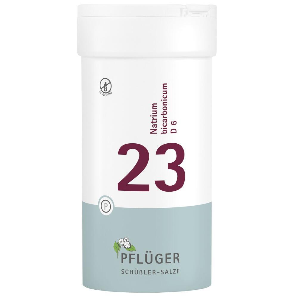 06322851, Biochemie Pflüger Nr. 23 Natrium bicarbonicum D 6, 400 ST