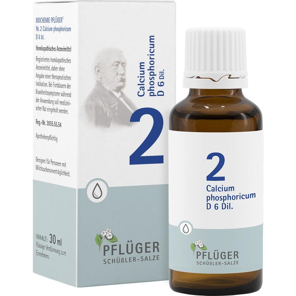 06323709, Biochemie Pflüger Nr. 2 Calcium phosphoricum D 6, 30 ML