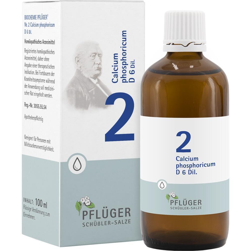 06323773, Biochemie Pflüger Nr. 2 Calcium phosphoricum D 6, 100 ML