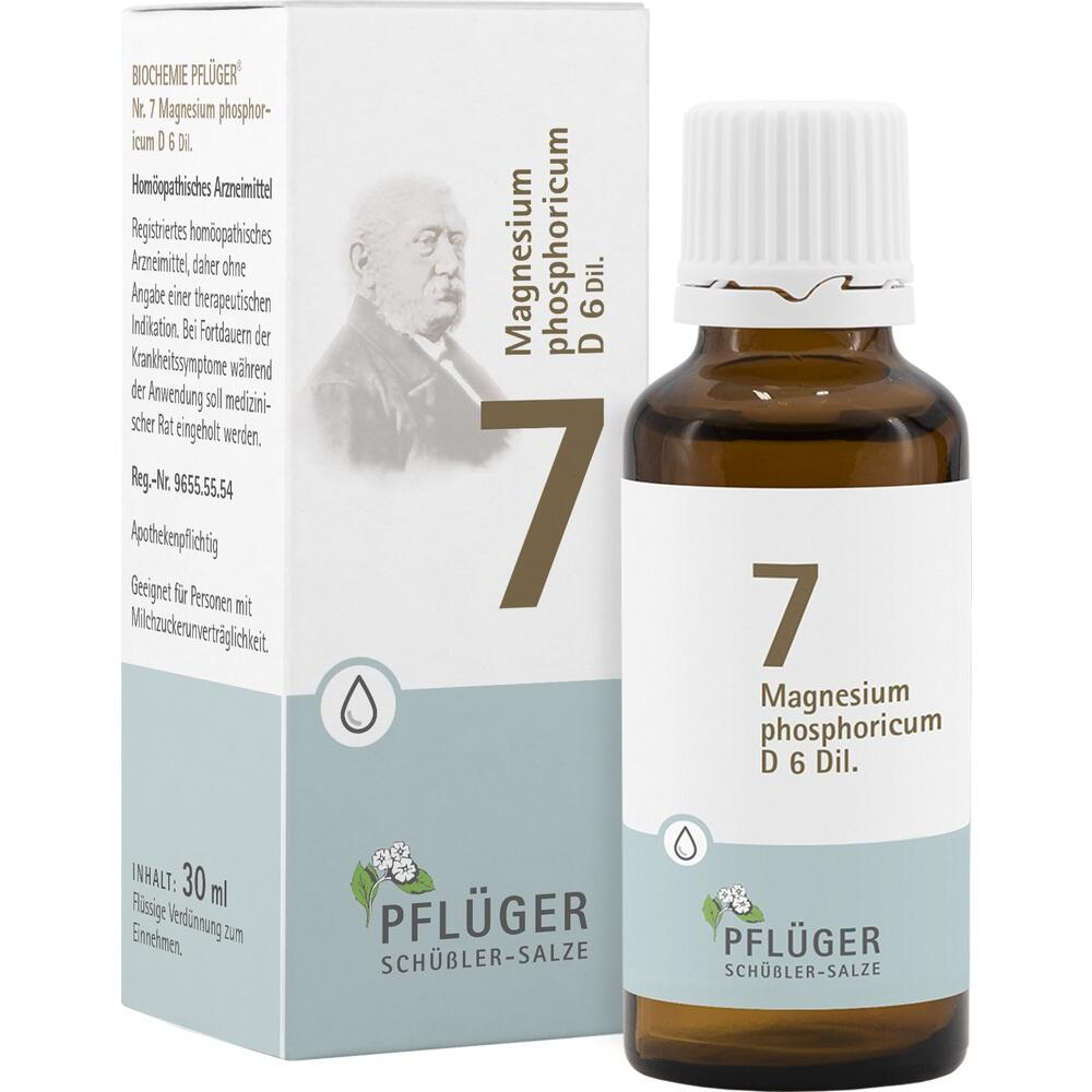 06324519, Biochemie Pflüger Nr. 7 Magnesium phosphoric. D 6, 30 ML