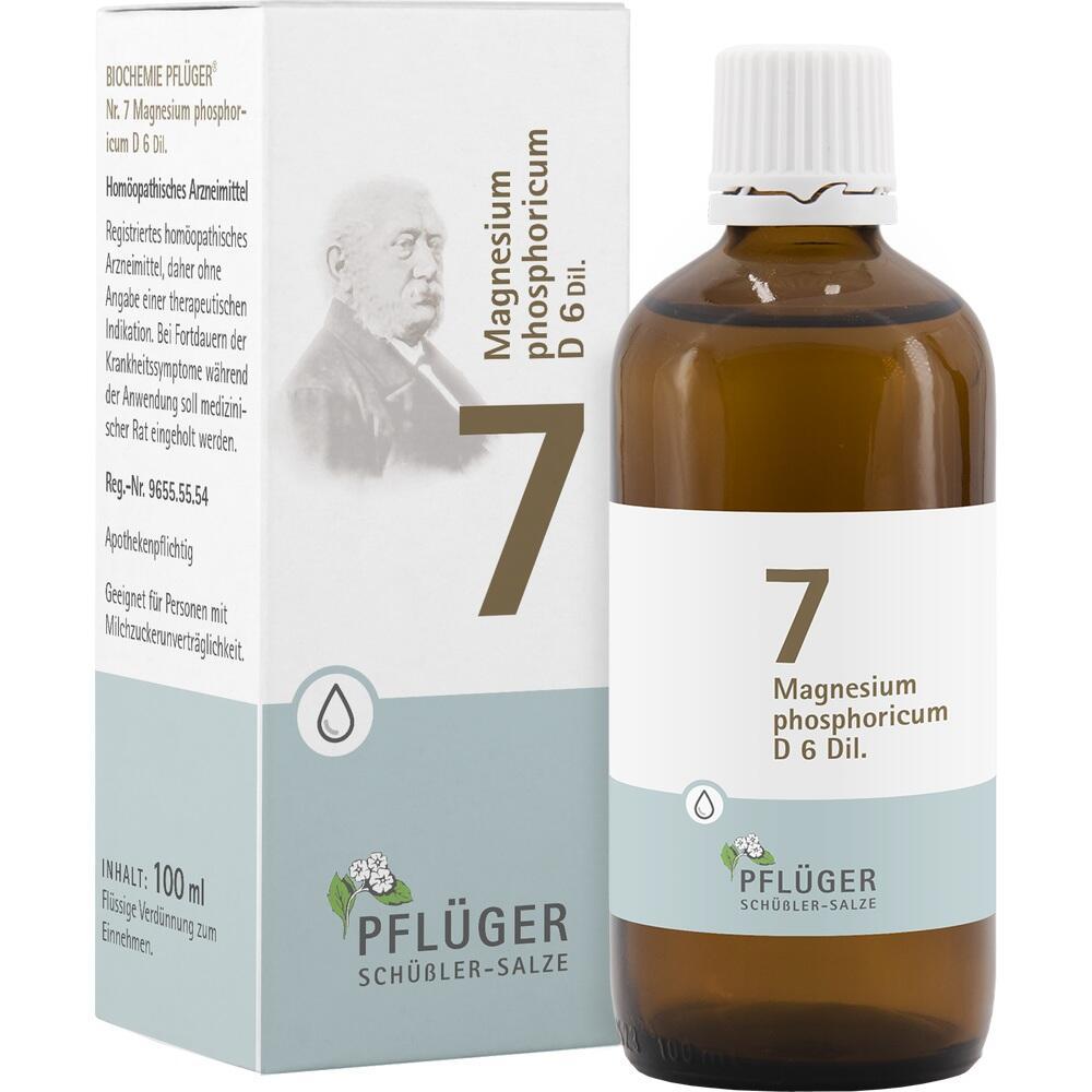 06324525, Biochemie Pflüger Nr. 7 Magnesium phosphoric. D 6, 100 ML
