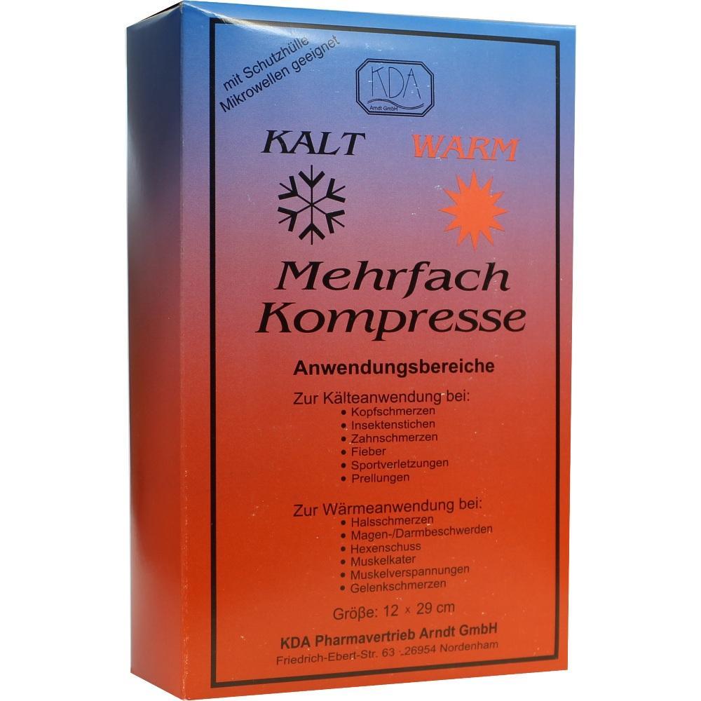 MEHRFACH KOMPRESSE 12x29 cm KDA