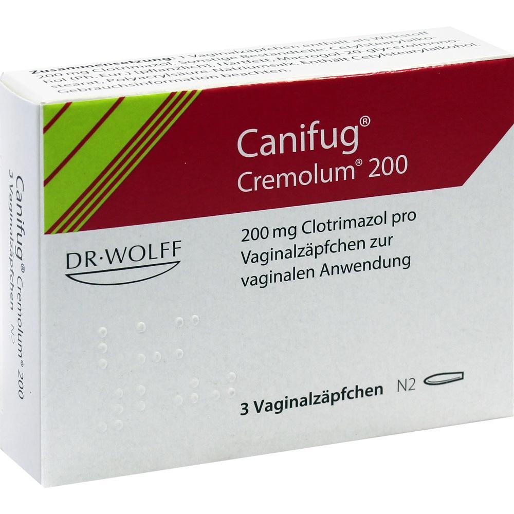 06349933, CANIFUG CREMOLUM 200, 3 ST