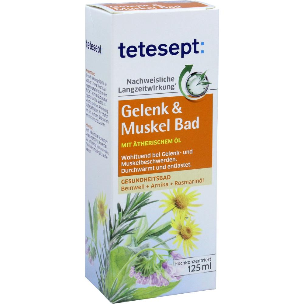 06437732, tetesept Gelenk + Muskel Bad, 125 ML