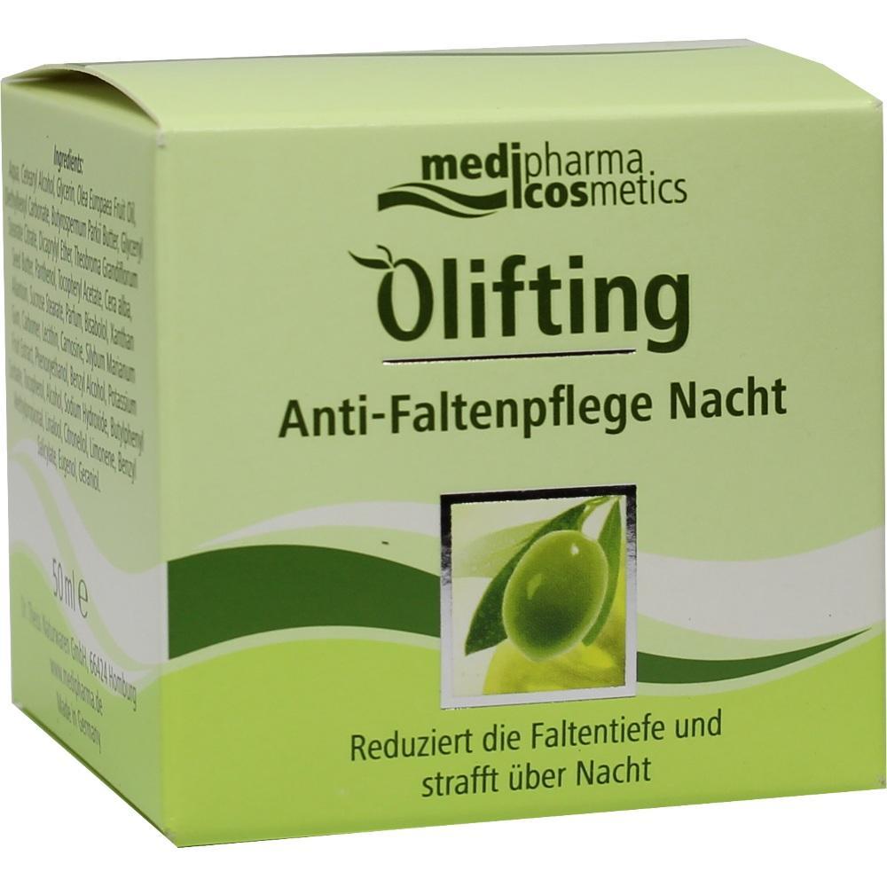 06440119, Olivenöl Olifting Anti Faltenpflege Nacht, 50 ML