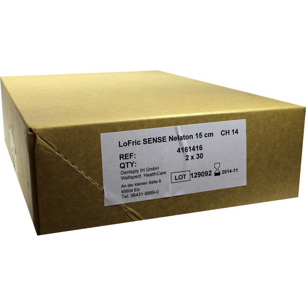06443023, LoFric Sense Blasenkath.m.Salzlsg Nelat.CH14 15cm, 60 ST