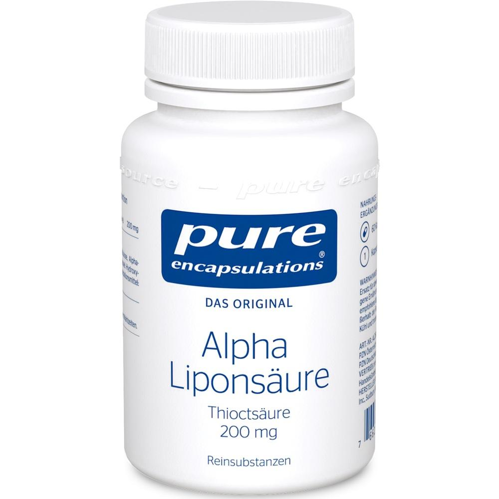 06552166, PURE ENCAPSULATIONS Alpha Liponsäure, 60 ST