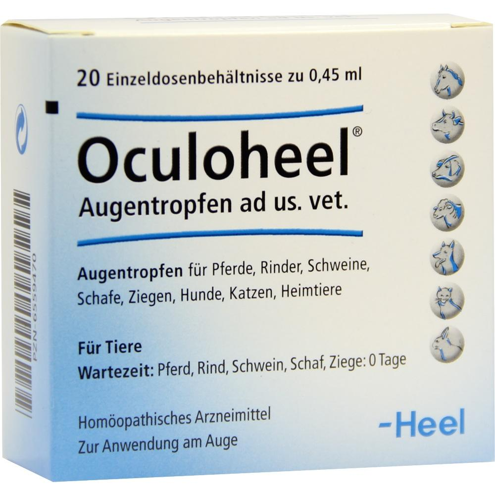 Biologische Heilmittel Heel GmbH Oculoheel Augentropfen ad us .vet. Einzeldosen 06559470