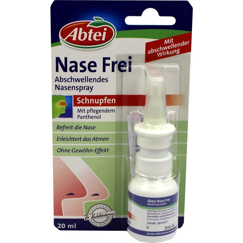 06563218, Abtei Nase Frei abschwellendes Spray, 20 ML