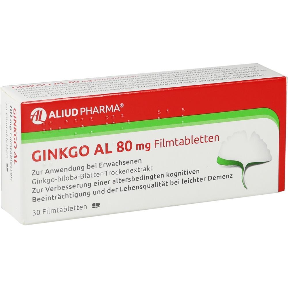 06565111, Ginkgo AL 80 mg Filmtabletten, 30 ST