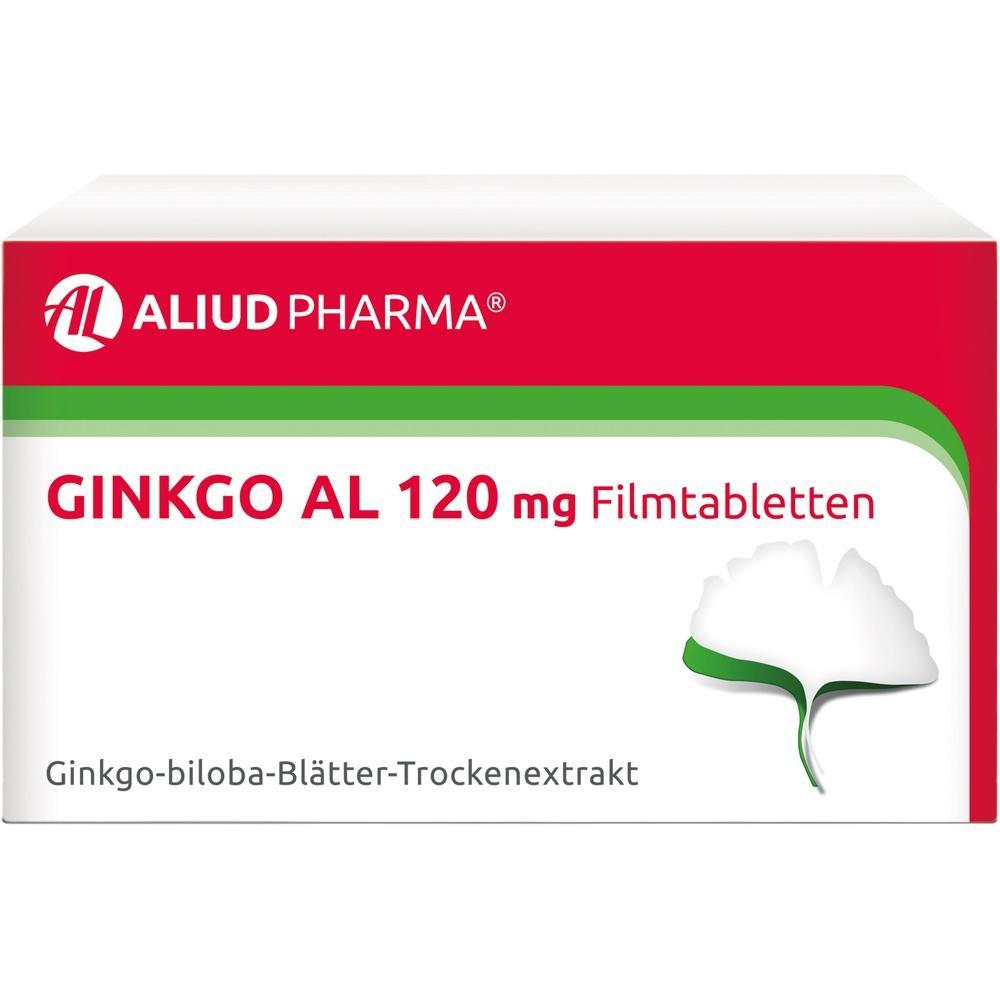 06565163, Ginkgo AL 120 mg Filmtabletten, 120 ST
