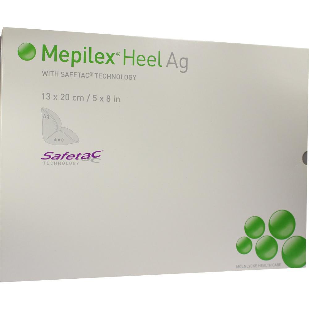 MEPILEX Heel Ag Schaumverband 13x20 cm steril
