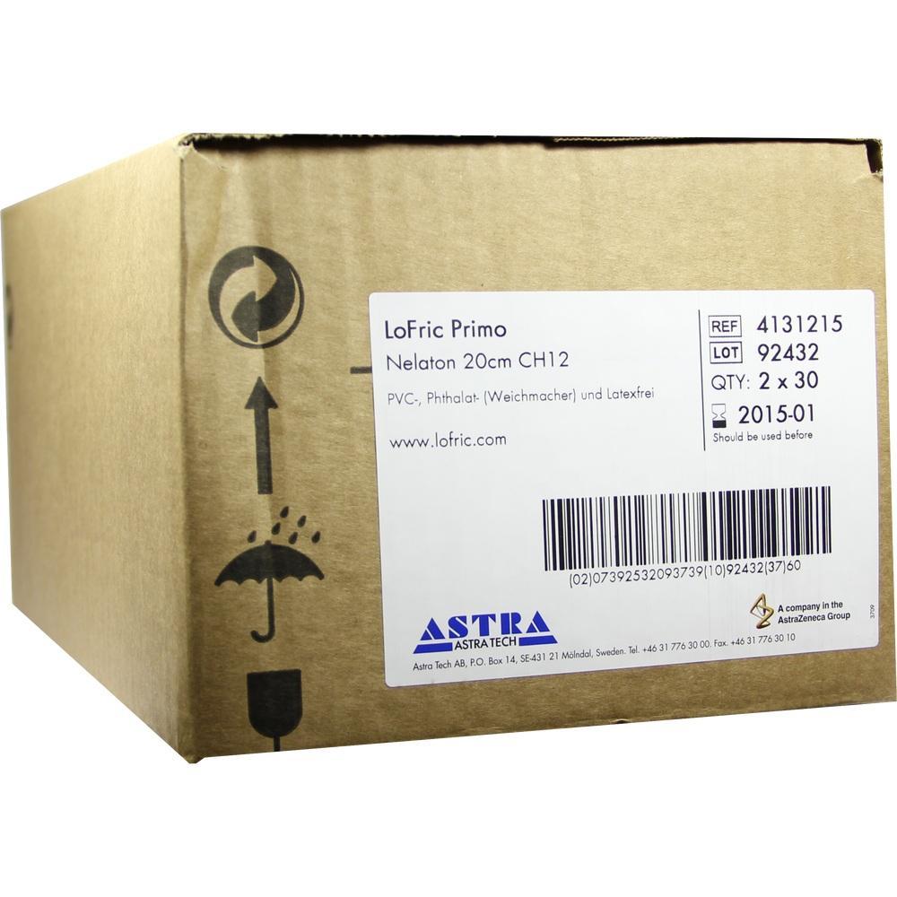06575960, LoFric Primo Nelaton 20cm CH12, 60 ST