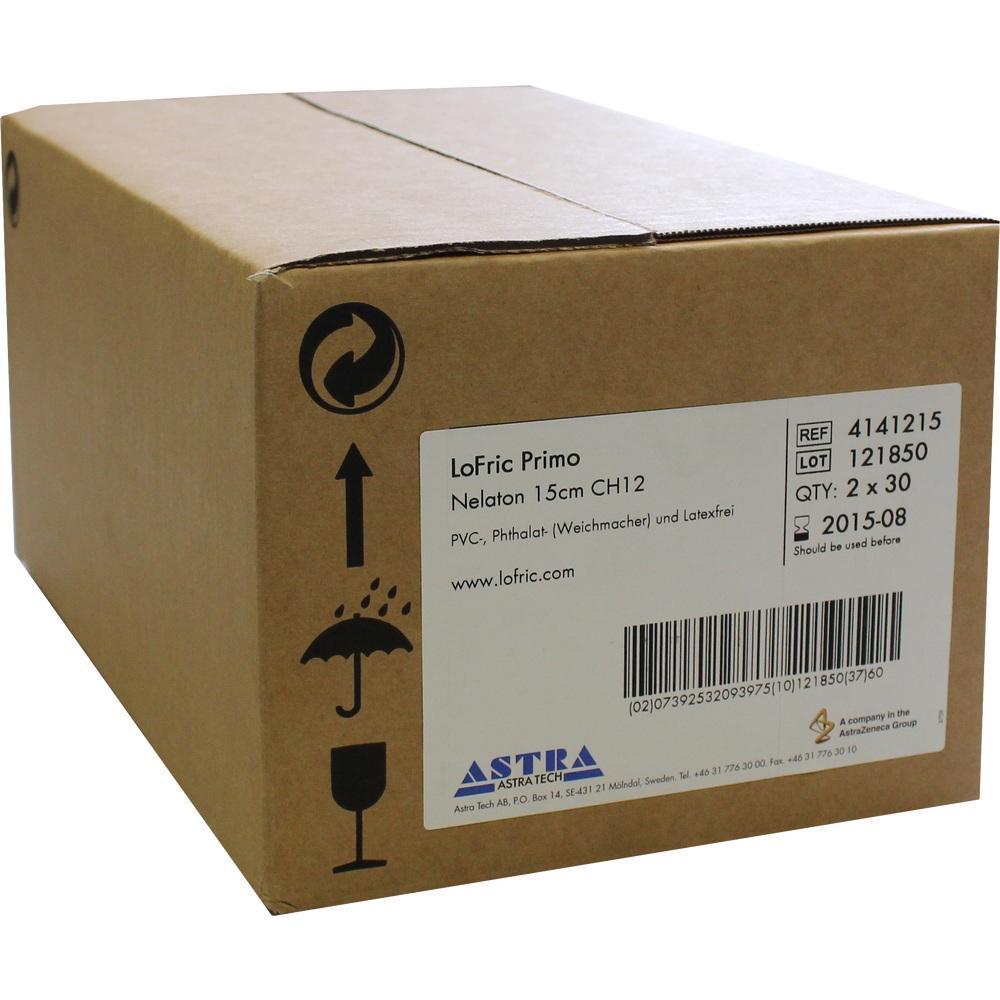 06576043, LoFric Primo Nelaton 15cm CH12, 60 ST