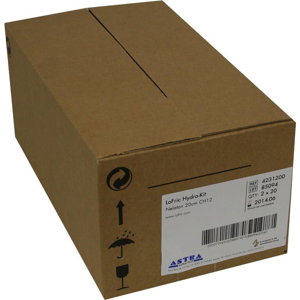 LOFRIC Hydro-Kit Katheter Nelaton Ch 12 20 cm